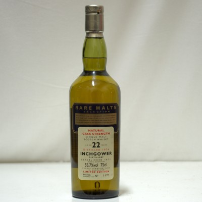 Rare Malts Inchgower 22 Year Old
