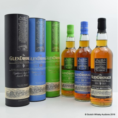 GlenDronach 'Star Wars' Set 3 x 70cl