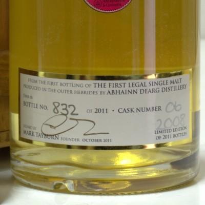 Abhainn Dearg 1st bottling Boxed