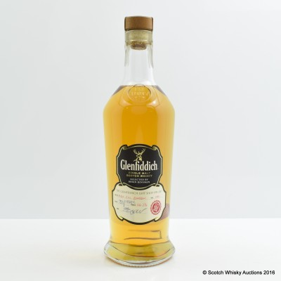 Glenfiddich 1991 Hand Filled For Anniversary Of Glenfiddich Gift Shop
