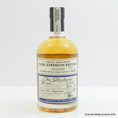 Glenlivet 1996 18 Year Old Chivas Brothers Cask Strength Edition 50cl