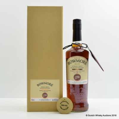 BOWMORE FEIS ILE 2015 1988 VINTAGE 26 YEAR OLD