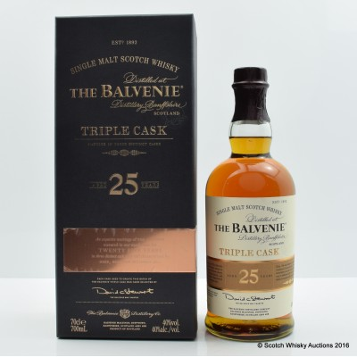 Balvenie 25 Year Old Triple Cask