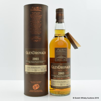GlenDronach 2003 13 Year Old Single Cask #713 For The Green Welly Stop