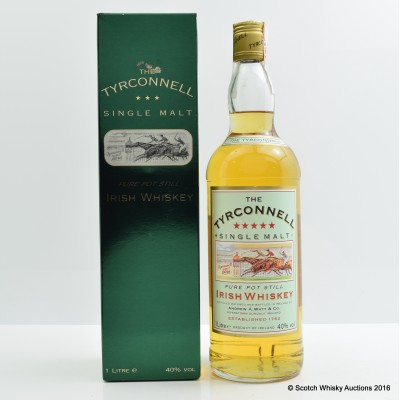 Tyrconnell Pot Still Irish Whiskey 1L