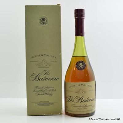 Balvenie Founder's Reserve Cognac Bottle 1L