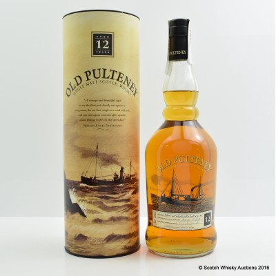 Old Pulteney 12 Year Old Old Style 1L