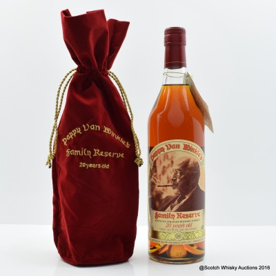 Pappy Van Winkle 20 Year Old Family Reserve 75cl