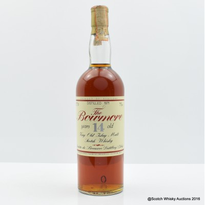 Bowmore 1971 14 Year Old Sestante 75cl