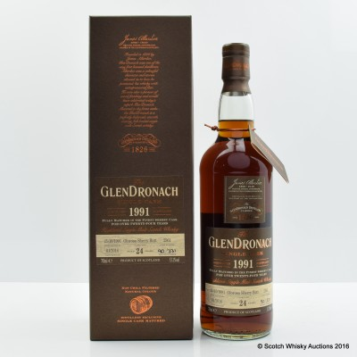 GlenDronach 1991 24 Year Old Single Cask #2361