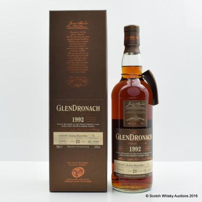 GlenDronach 1992 23 Year Old Single Cask #76