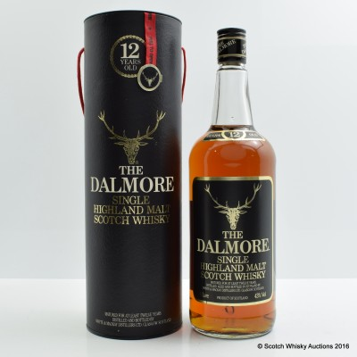 Dalmore 12 Year Old Old Style 1L