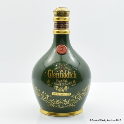 Glenfiddich 18 Year Old Ancient Reserve Green Decanter 75cl