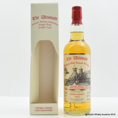 Glen Grant 1992 23 Year Old The Ultimate