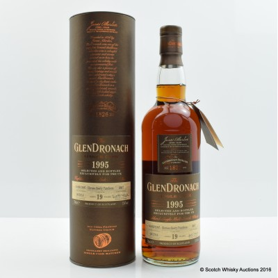 GlenDronach 1995 19 Year Old Single Cask #4887