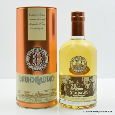 Bruichladdich Valinch Sinnsear 1988 50cl