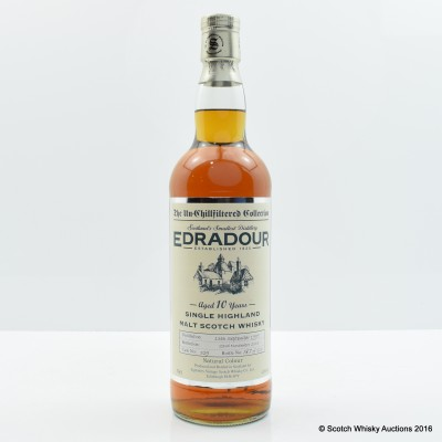 Edradour 1995 10 Year Old Signatory