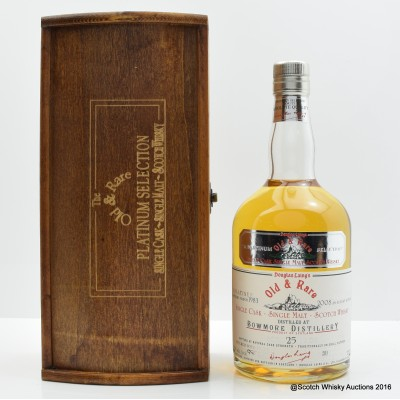 Bowmore 1983 25 Year Old Old & Rare