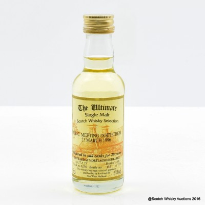 Mortlach 1975 20 Year Old The Ultimate Mini 5cl