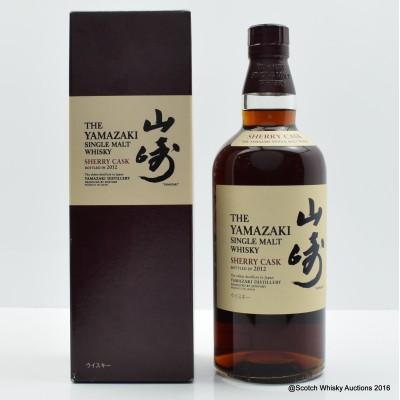 Yamazaki Sherry Cask 2012 Release