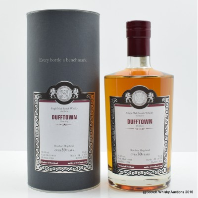 Dufftown 1984 30 Year Old Malts of Scotland
