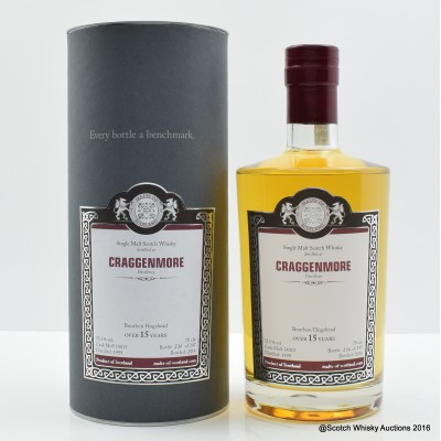 Cragganmore 1999 15 Year Old Malts Of Scotland