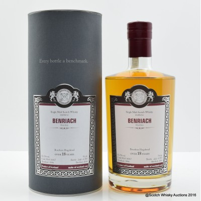 BenRiach 1996 18 Year Old Malts of Scotland