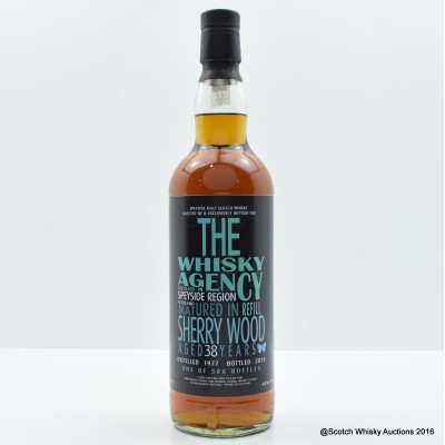 Speyside 1977 38 Year Old The Whisky Agency