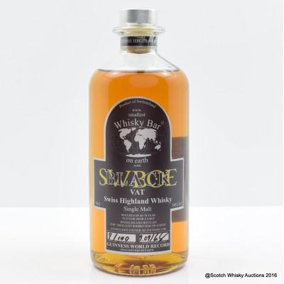 Swiss Whisky - Smallest Bar On Earth Black Vat 50cl
