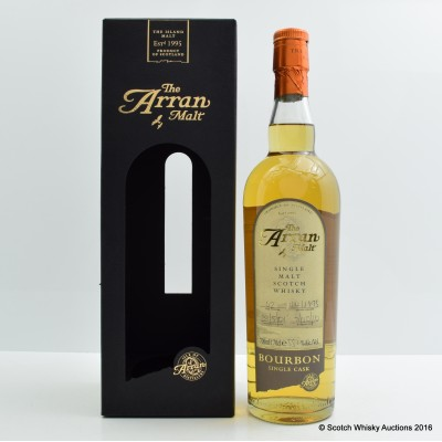 Arran 2001 Bourbon Single Cask #42