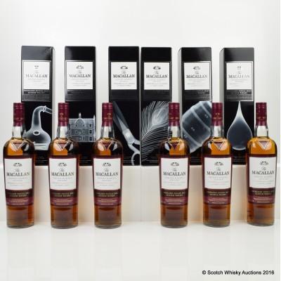 Macallan Nick Veasey The Pillars Whisky Maker's Edition 6 x 70cl