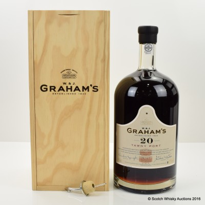 Graham's 20 Year Old Tawny Port 4.5L