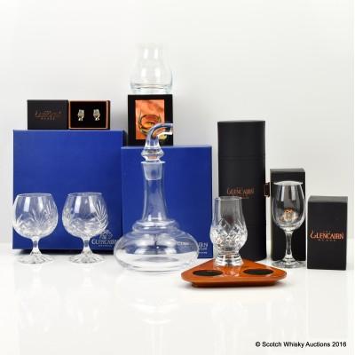 Assorted Glencairn Glasses and Paraphernalia