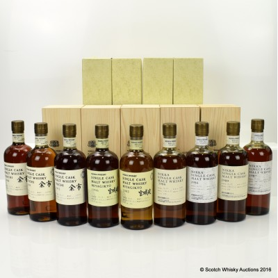 Nikka Single Cask Collection 70cl x 9