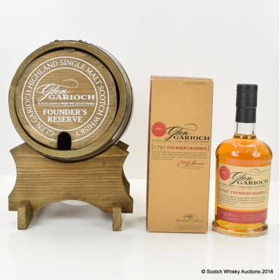 Glen Garioch Founder's Reserve & Glen Garioch Barrel