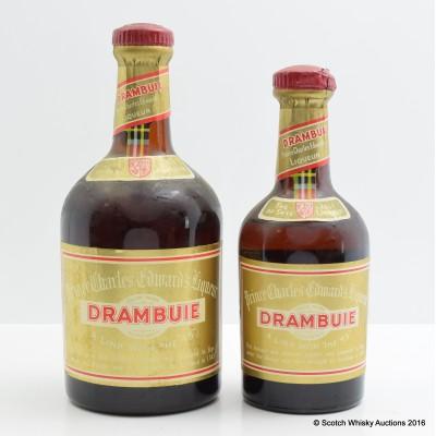 Drambuie 23 3/4 Fl Ozs & Drambuie 11 5/6 Fl Ozs