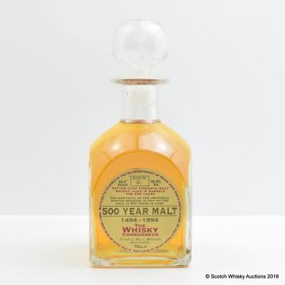 500 Year Malt The Whisky Connoisseur