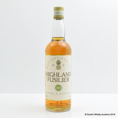 Highland Fusilier 25 Year Old Gordon & Macphail
