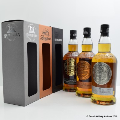 SPRINGBANK RUNDLETS & KILDERKINS COLLECTION 3 X 70CL