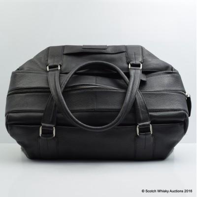 Highland Park Branded Leather Travel Bag