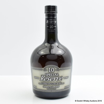 Suntory 10 Year Old Special Reserve 75cl