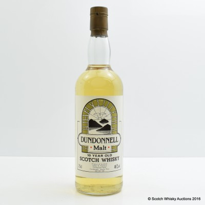 Dundonnell 10 Year Old 75cl