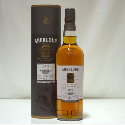 Aberlour 10 Year Old White Oak 2003