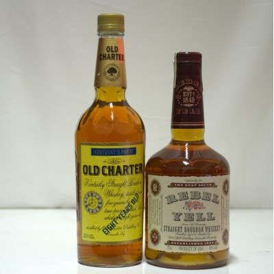 Rebel Yell & Old Charter 8 Year Old