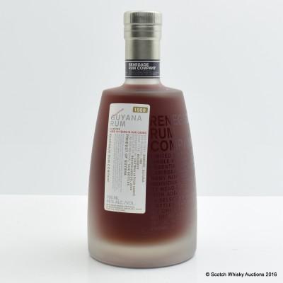 Enmore 1988 19 Year Old Guyana Rum Renegade Bottling