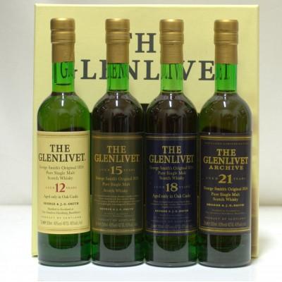 Glenlivet The Range 4 X 20cl