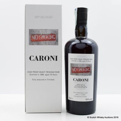 Caroni 1998 16 Year Old Trinidad Rum