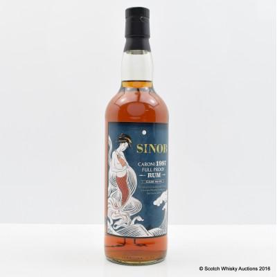 Caroni 1997 Sinob Full Proof Rum