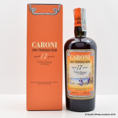 Caroni 1998 17 Year Old Trinidad Rum