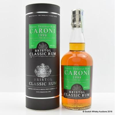 Caroni 1998 Rum Bristol Spirits